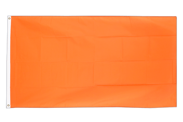 Orange Flagge 90 x 150 cm