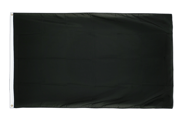 Black 3x5 ft Flag