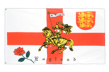 England with knight 3x5 ft Flag