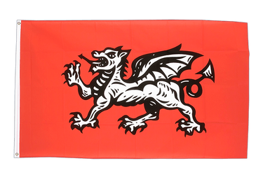 England white dragon 3x5 ft Flag