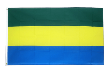 Gabon 3x5 ft Flag