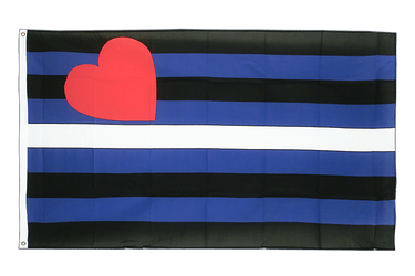 Gay Pride Leather Flagge 90 x 150 cm