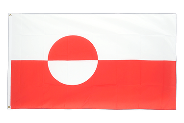 Greenland 3x5 ft Flag