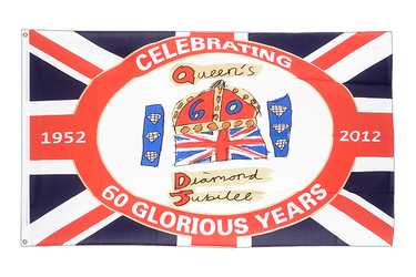 United Kingdom Diamond Jubilee of Queen Elizabeth II 3x5 ft Flag