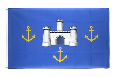 Isle of Wight alt Flagge 90 x 150 cm