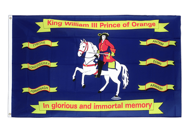 King William of Orange 3x5 ft Flag