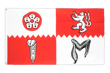 Leicestershire Flagge 90 x 150 cm