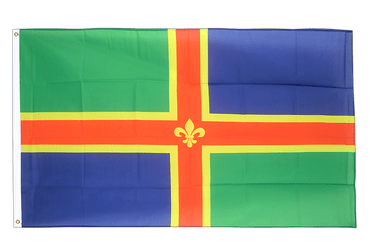 Lincolnshire 3x5 ft Flag