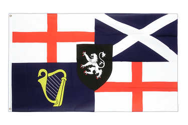 United Kingdom Lord Protector Banner und Command Flag 1658-59 3x5 ft Flag