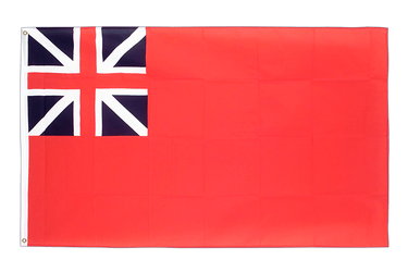 Drapeau Red Ensign 1707-1801 - 90 x 150 cm