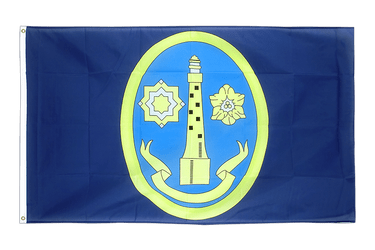 Isles of Scilly Lighthouse - 3x5 ft Flag