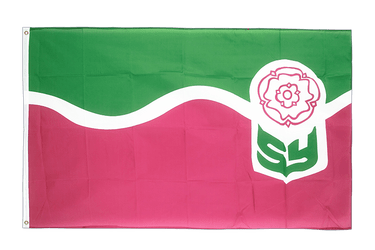 South Yorkshire - Flagge 90 x 150 cm