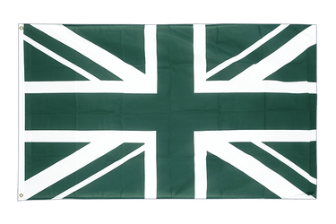 Union Jack green 3x5 ft Flag