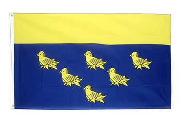 West Sussex Flagge 90 x 150 cm