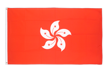 Hong Kong 3x5 ft Flag