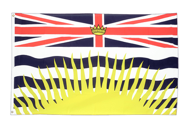 British Columbia 3x5 ft Flag