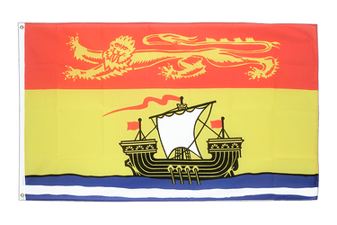 New Brunswick 3x5 ft Flag