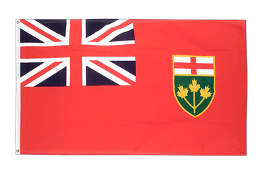 Ontario 3x5 ft Flag