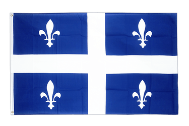 Quebec 3x5 ft Flag