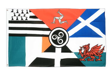 Celtic nations - 3x5 ft Flag