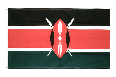 Kenya 3x5 ft Flag