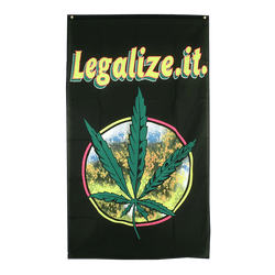 Cannabis Legalize it 3x5 ft Flag