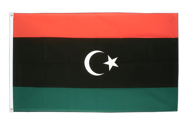 Kingdom of Libya 1951-1969 Opposition Flag Anti-Gaddafi Forces 3x5 ft Flag