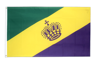 Mardi Gras - 3x5 ft Flag