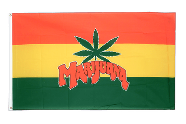 Marijuana 3x5 ft Flag