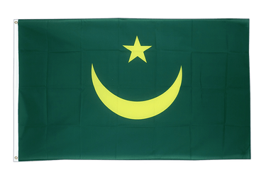 Mauritania - 3x5 ft Flag