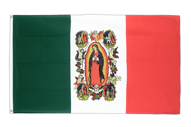 Mexiko Lady of Guadalupe Flagge 90 x 150 cm