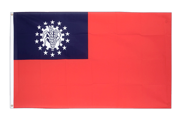 Myanmar 1974-2010 3x5 ft Flag