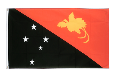 Papua New Guinea 3x5 ft Flag