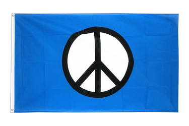 Peace CND 3x5 ft Flag