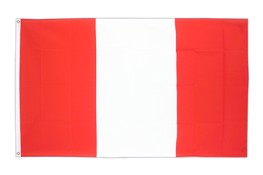 Peru without crest 3x5 ft Flag