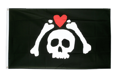 Drapeau Pirate Micropose 90 x 150 cm