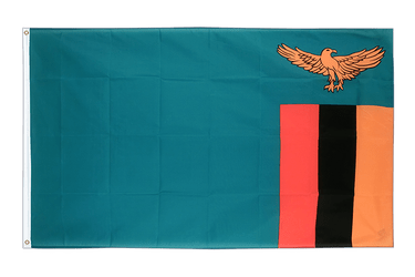 Zambia - 3x5 ft Flag