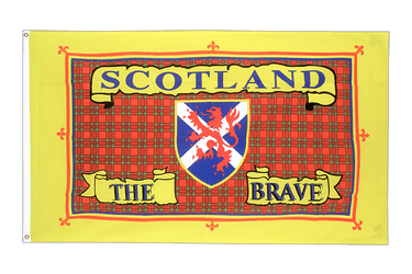 Drapeau Ecosse Scotland The Brave - 90 x 150 cm