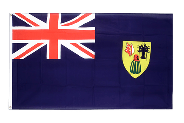 Turks and Caicos Islands 3x5 ft Flag