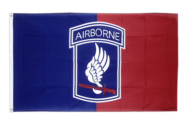 USA 173rd Airborne - 3x5 ft Flag