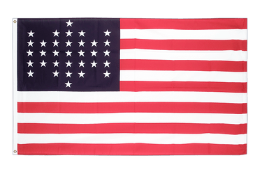 33 Sterne Fort Sumter Union Civil War 1861 - Flagge 90 x 150 cm