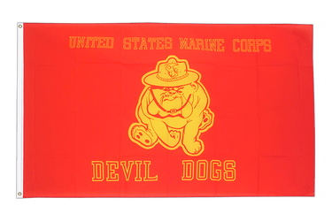 USA Devil Dogs 3x5 ft Flag