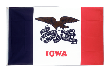 Iowa 3x5 ft Flag