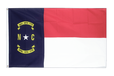 North Carolina - Flagge 90 x 150 cm