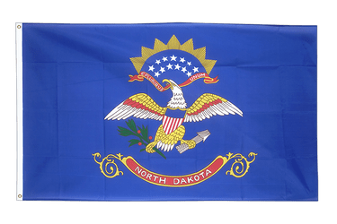 North Dakota Flagge 90 x 150 cm
