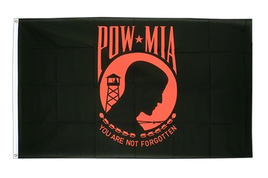 USA Pow Mia / black,red 3x5 ft Flag