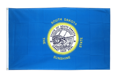 Dakota du Sud (South Dakota) Drapeau 90 x 150 cm