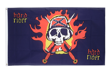 USA Southern United States Hard Rider 3x5 ft Flag