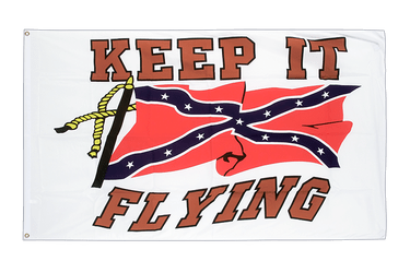 USA Südstaaten Keep it Flying Flagge 90 x 150 cm