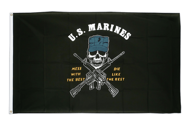 US Marine Corps Mess with the Best 3x5 ft Flag
